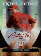 2011 Elite Extra Edition Franchise Futures Signature Red Ink #151 Anthony Meo/25