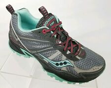 d349ac50 Saucony Excursion TR8 Womens Running Shoes Trail Athletic Gray Sneakers Sz 6