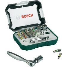 Bosch Set avvitamento inserti e bussole 26pz con cricchetto Piccolo Inserto Re