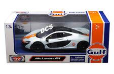 Motormax 1/24 Scale Diecast Model Car 79642 - McLaren P1 - Gulf