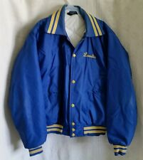 Vintage Firemans Fire Fighter Jacket Coat Windless Flapjacket Men's 70 - 80s