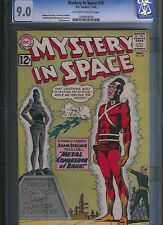 Mystery in Space # 79 CGC 9.0  Off White to White Pages. UnRestored.