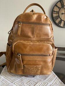 rawlings leather backpack