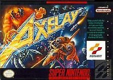 AXELAY SNES SUPER NINTENDO GAME COSMETIC WEAR