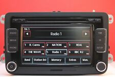 VW TOURAN EOS GOLF PLUS PASSAT POLO JETTA RCD510 6 DISC CD RADIO PLAYER CODE