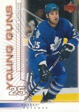 2000-01 Upper Deck Hockey #194 Greg Andrusak YG RC San Jose Sharks
