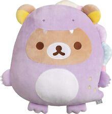 San-X Rilakkuma Dinosaur Rilakkuma Cushion Plush Doll Stuffed Toy w/Tracking NEW