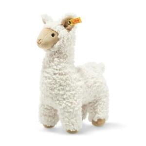 STEIFF Leandro Llama EAN 069543 29cm Cream gift Plush soft toy New