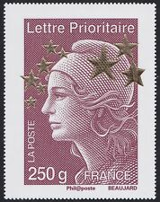 2012 FRANCE N°4662J** Maxi Marianne de l´Europe Etoiles d´Or (250gr)   60x78mm