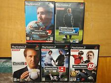 5x PS2 World Soccer Winning Eleven 7 + 7 International + 8 + 9 + 10 JAPAN NTSC-J