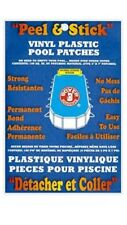 2 Packs Of peal stick vinyl pool patches