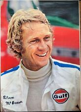 LE MANS Japanese A1 personality movie poster STEVE MCQUEEN F1 CAR RACING RARE 73