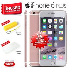 New Sealed Factory Unlocked APPLE IPhone 6 Plus Rose Gold 64GB 4G Smartphone