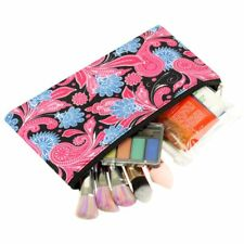 Pencil Case Toiletry Holder Cosmetic Bag Travel Makeup Zip Storage Organizer