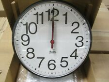 "Franklin 12"" Atomic Radio Controled Analog Wall Clock"
