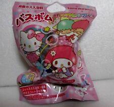 Bomba de baño japonés Bola Sanrio Personajes Kitty O My Melody dentro de Mascota de anillo