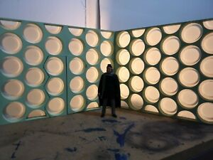Custom 1/13 1st Doctor Who Tardis Console Room Walls