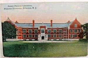1914 Color Postcard: Princeton University Palmer Physical Laboratory
