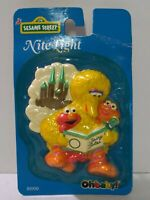 Vintage 1997 Sesame Street Nite Light Knight Light Big Bird NIB Ohbaby! E2
