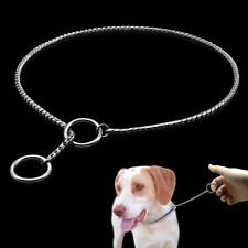 Pet Choke Pinch Collar Metal Slip Chain New Use For Training Walking Accessories