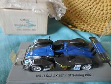 1/43 MG LOLA EX 257 #37 BANANA JOE'S INTERSPORT 12H SEBRING 2002 SPARK