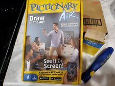 Pictionary Air Fun Family Board Game made by Mattel, Inc. Blue pen