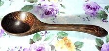 "11""Palm Wood Ladle Soup Spoon Spatula Utensil Handmade Cooking Kitchen Tool New!"