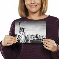A5 - Statue of Liberty New York City Print 21x14.8cm 280gsm #12199