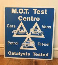 MOT Test Centre sign Used Plaque Sign Bar Pub Club Wall Home Den Man Cave Decor