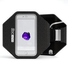Universal Sport Handy Armtasche Jogging Smartphone Fitness Arm Band Schwarz