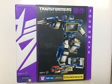 Transformers G1 Masterpiece Soundwave Laserbeak Rumble Frenzy Buzzsaw Boxed MP