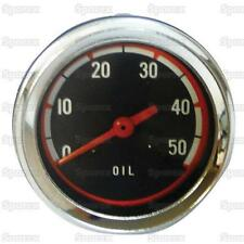 Minneapolis-Moline Tractor Oil Pressure Gauge MM G550 G750 158584A Oliver White