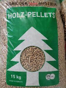 Holzpellets AgricolaPremium-Qualität - Sackware (2 x 15 kg) EN Plus