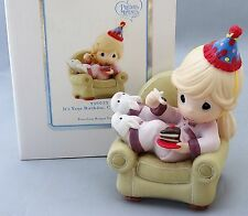 Precious Moments Figurine Collectible Its Your Birthday Cake it Easy 930022 NIB