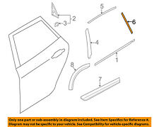 SUBARU OEM 14-16 Forester Exterior-Rear-Black Out Tape Right 90422SG100