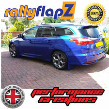 Rally Style Bavette FORD FOCUS ST MK3 ST250 Estate ESPRIT Bleu Polyuréthane PU