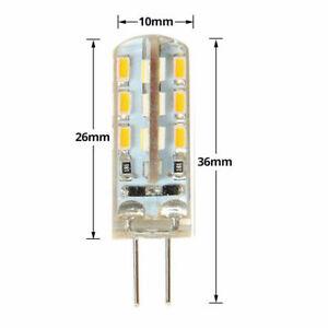 LED Bulb  12 Volt DC G4 Base  2 watts WARM white