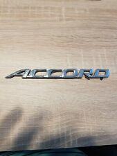 HONDA ACCORD rear letter badge emblem logo 190x15mm Name Plate 2002-2007