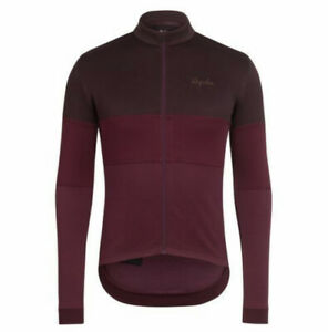 Rapha Classic Long Sleeve Tricolour Jersey Purple Size Medium BNWT