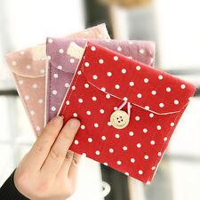 Women Girl Cute Sanitary Napkin Towel Pads Small Bag Purse Holder Organizer Bag