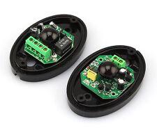 Beam Photoelectric Infrared Detector Alarm Barrier Sensor Home Security 15M ..