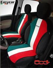 FIAT 500 L FODERE AUTO copri sedili su misura SOLO ANTERIORI TRICOLORI