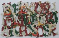 Bo Bunny *ST NiCK* Alphabet Chipboard Letters NEW
