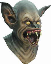 BRAND NEW Nosferatu Monster Vampire DELUXE ADULT LATEX BAT CREATURE MASK