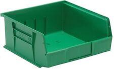 "QUS235 Quantum Plastic Storage Stacking Bin 10"" x 11"" x 5"" Green Carton of 6"