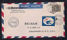 1959 NETHERLAND rocket mail cover - RHEDEN - 77C1