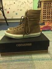 Converse Suede And Shearling Hi-Rise