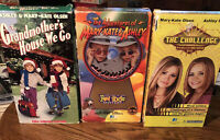 Lot Of 3 VHS Movies~The Adventures of Mary-Kate & Ashley Olsen Twins
