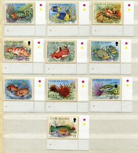 FAUNA_956 1992 Cocos Island marine life fish crabs 10 pc MNH Combined payments