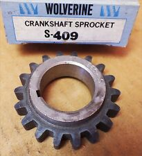 Wolverine S409 Engine Timing Crankshaft Sprocket For Ford Mercury Lincoln 69-82